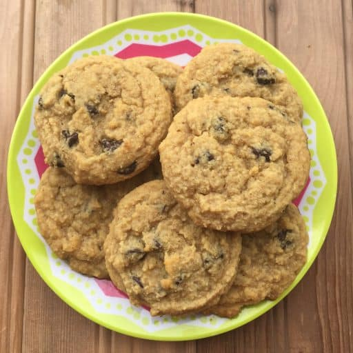Favorite Low-Carb Chocolate Chip Cookies
