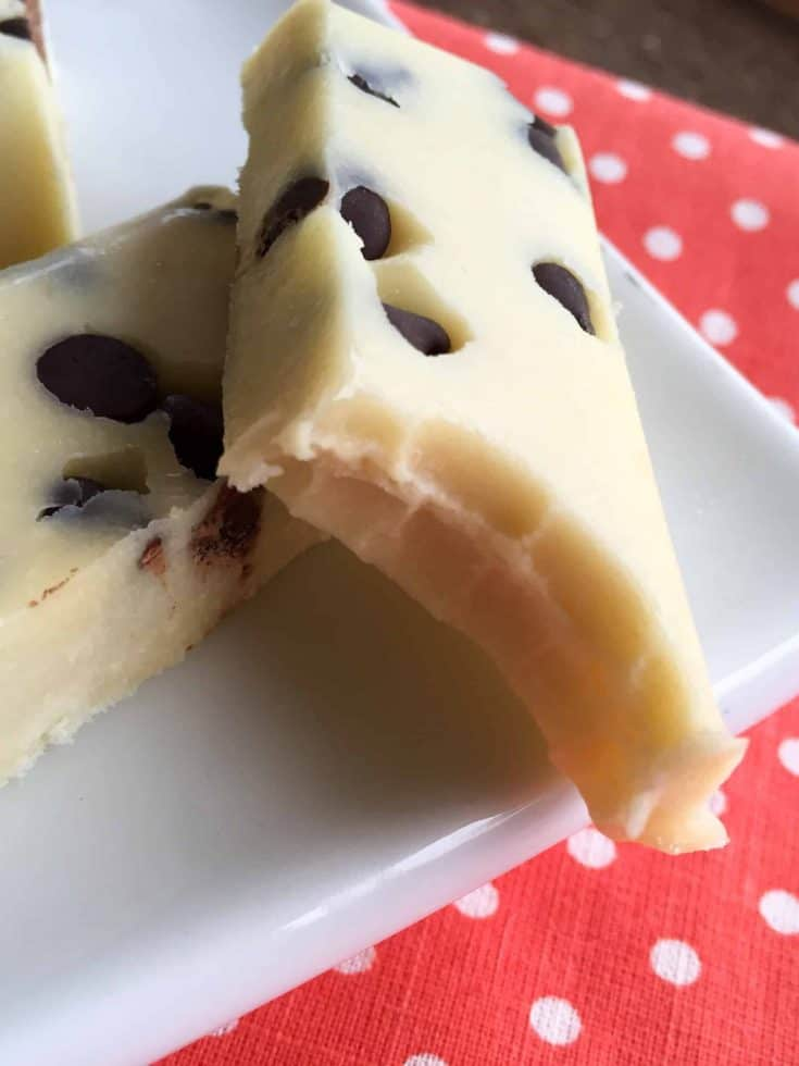 Coconut Cream Protein Fudge Bars (THM-S, Low Carb, Sugar Free)