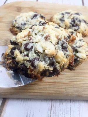 Almond Joy Cookies {Low Carb, Sugar Free, THM-S}