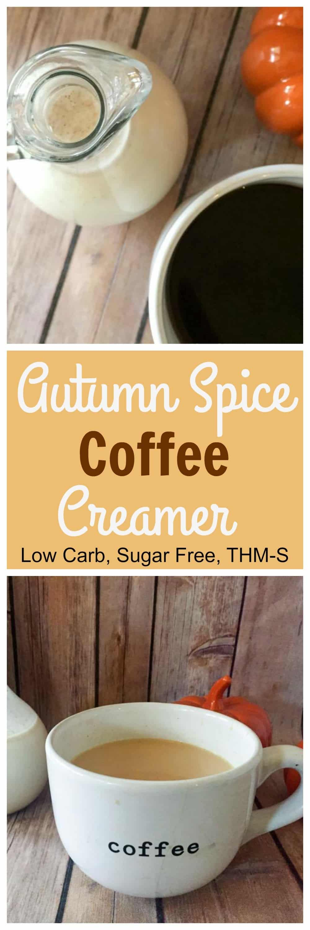 Autumn Spice Coffee Creamer Sugar Free