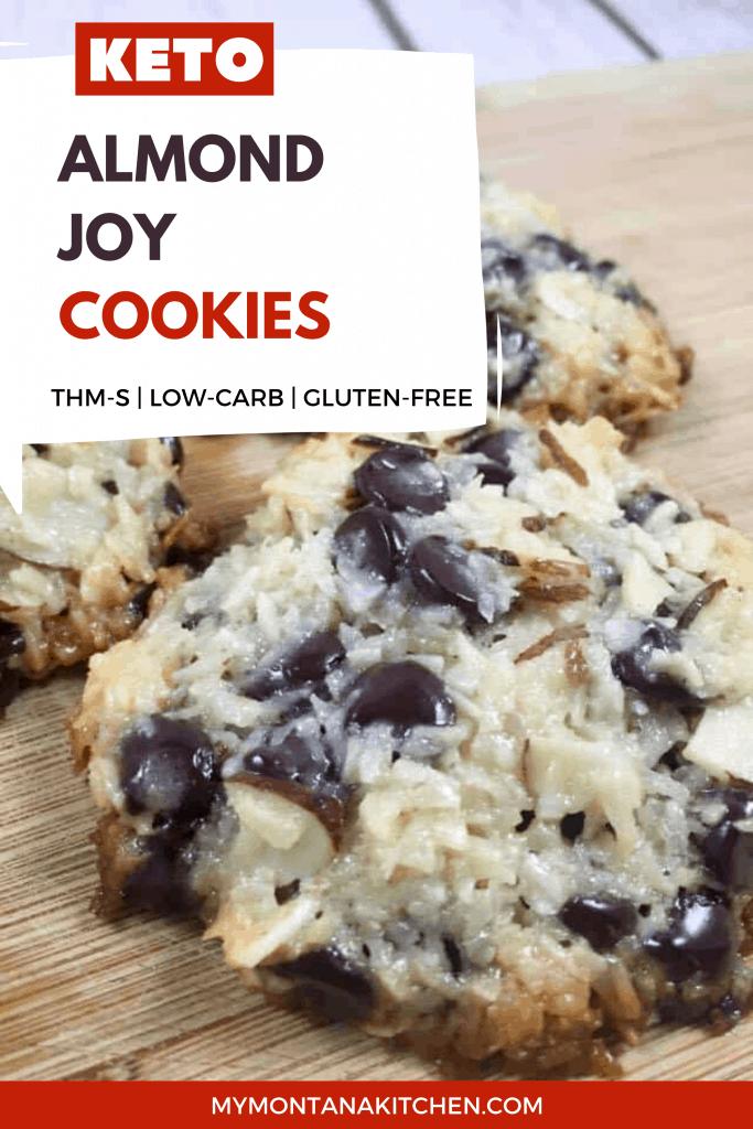 low carb almond joy cookie