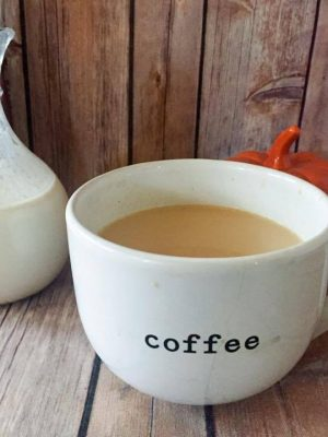 Autumn Spice Coffee Creamer {THM-S, Low Carb, Sugar Free}