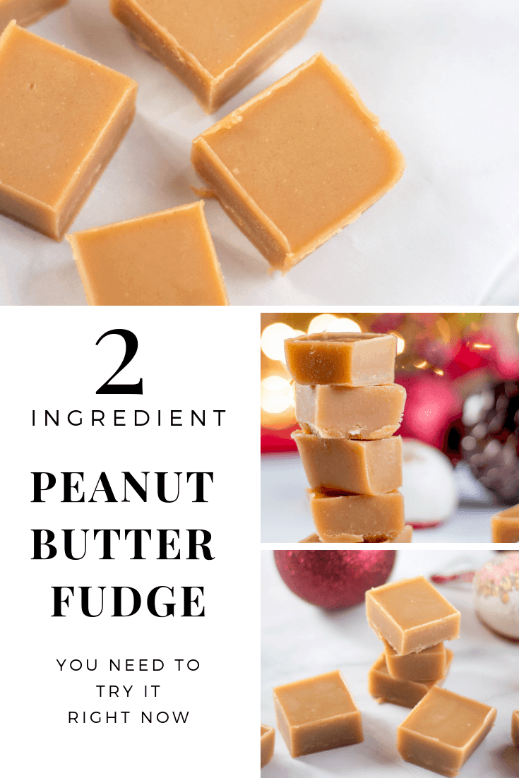 This rich low carb peanut butter fudge is easy, tastes delicious, and no-one will no it is sugar free (and only 2 ingredients)! #trimhealthymama #lowcarb #keto #peanutbutterfudge #lowcarbpeanutbutterfudge #christmasrecipes #peanutbutterfudge #peanutbutter #sugarfreefudge #sugarfree