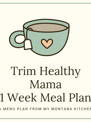 THM Meal Plan for January 2-8