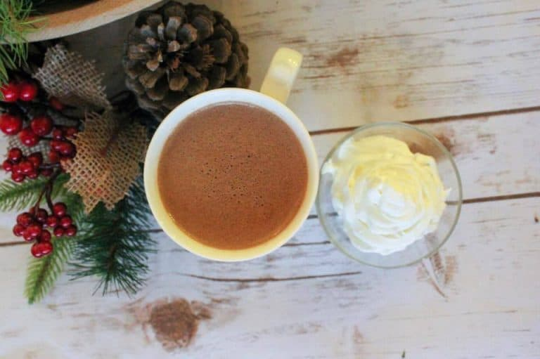 Peppermint Whipped Cream (THM-S, Low Carb, Sugar Free)