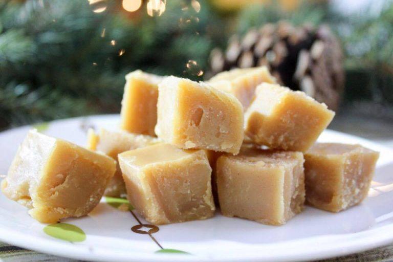 2 Ingredient Peanut Butter Fudge (THM-S, Low Carb, Sugar Free)