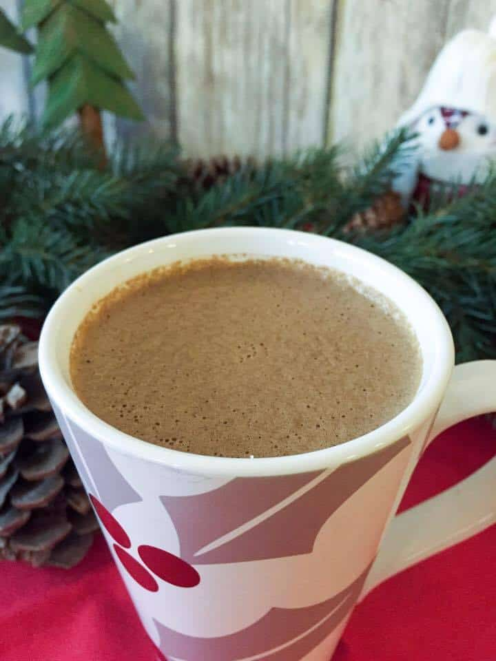 Secret Ingredient Hot Chocolate (THM-FP, Sugar Free, Low Fat, Low Carb)