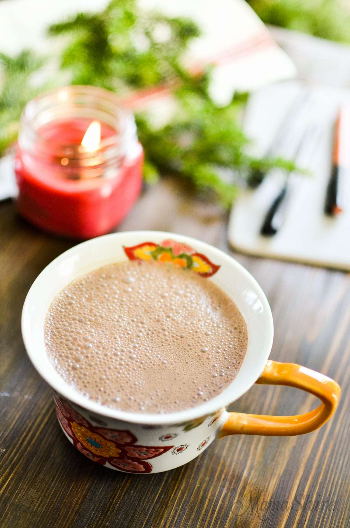 Dreamy Dairy Free Hot Chocolate