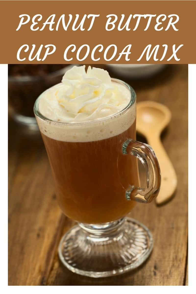 Peanut Butter Cup Hot Cocoa Mix (THM, Sugar Free)