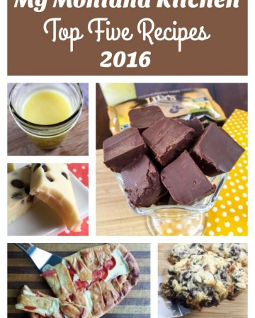 Top 5 Recipes for 2016 From My Montana Kitchen (THM-S, Low Carb, Sugar Free)