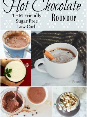Low Carb, Sugar Free Hot Chocolate Roundup