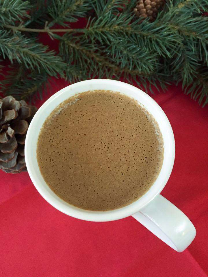 Secret Ingredient Hot Chocolate (THM-FP, Sugar Free, Low Carb)
