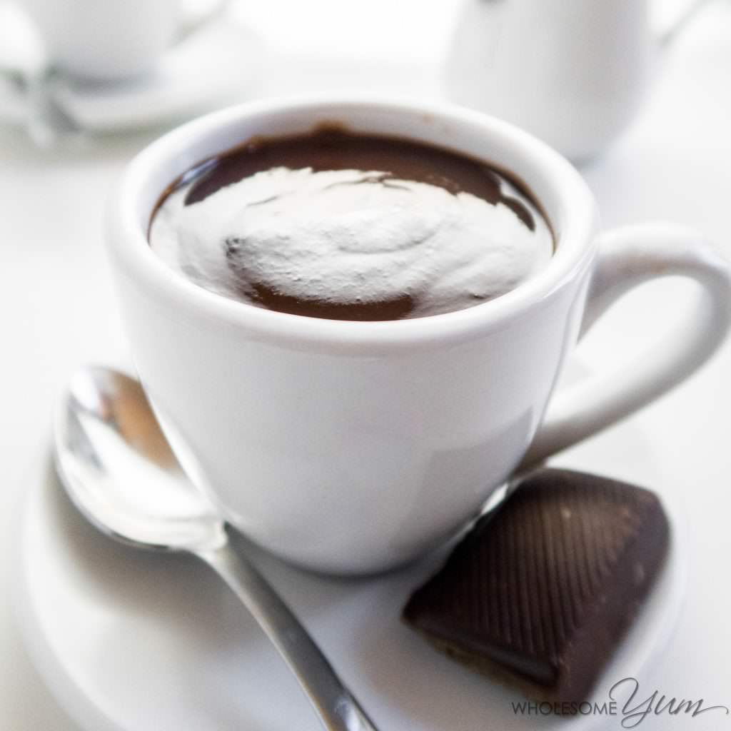 Fancy Low-Carb Hot Chocolate