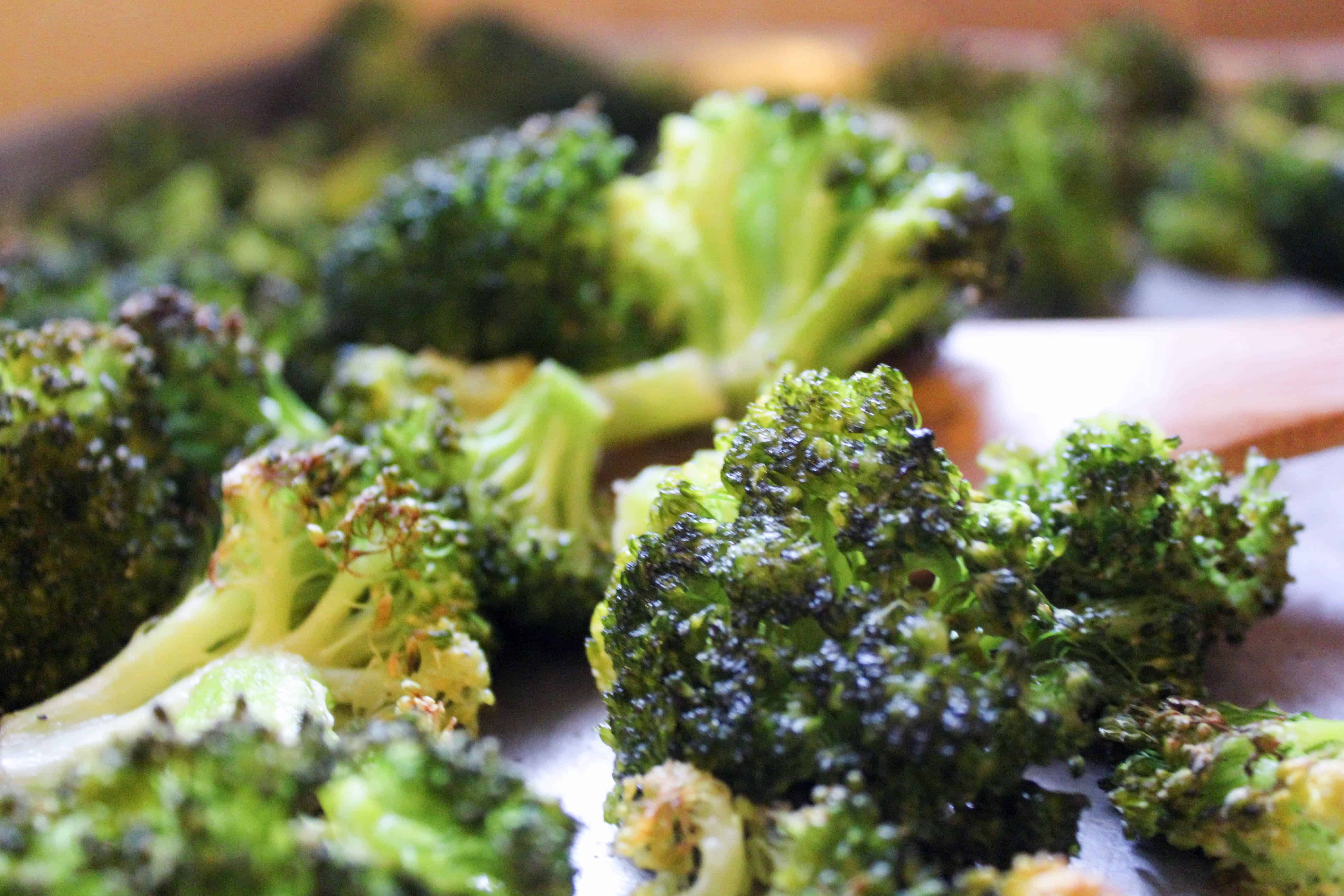 Easy Oven Roasted Broccoli (THM-S, Low Carb)