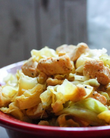 Cajun Chicken Eggroll in a Bowl (THM-FP, Low Carb, Low Fat)