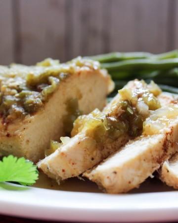 4 Ingredient Salsa Verde (THM-FP, Low Carb, Instant Pot)