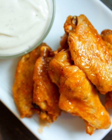 Easy Low Carb Hot Wings (THM-S)