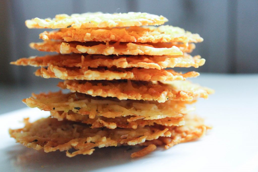 3 Ingredient Double Cheese Crackers (Low Carb, THM-S)