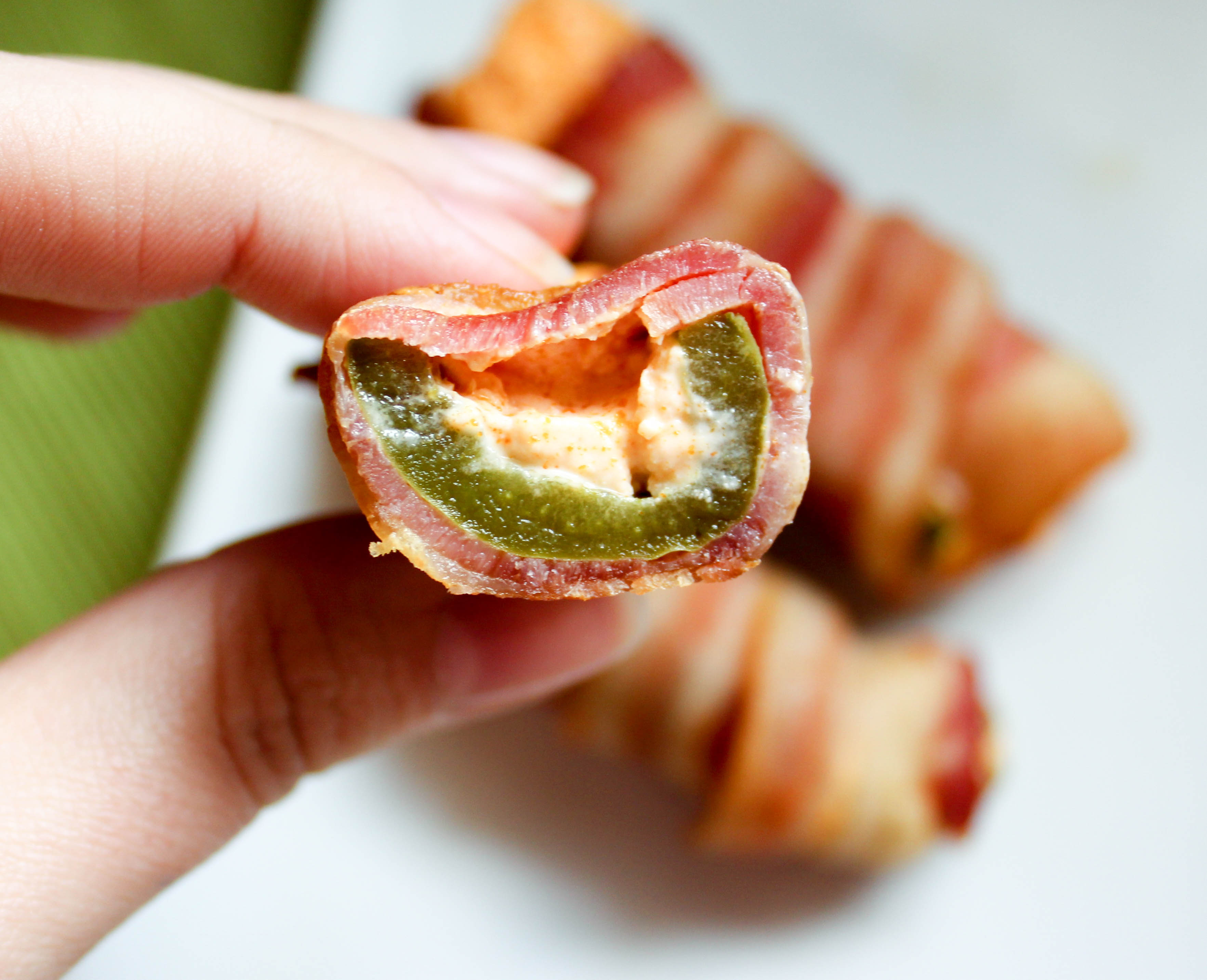 Buffalo Bacon Jalapeno Poppers (Low Carb, THM-S)