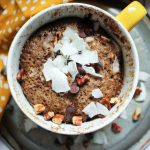 German Chocolate Muffin in a Mug (THM-S, Low Carb, Sugar Free)