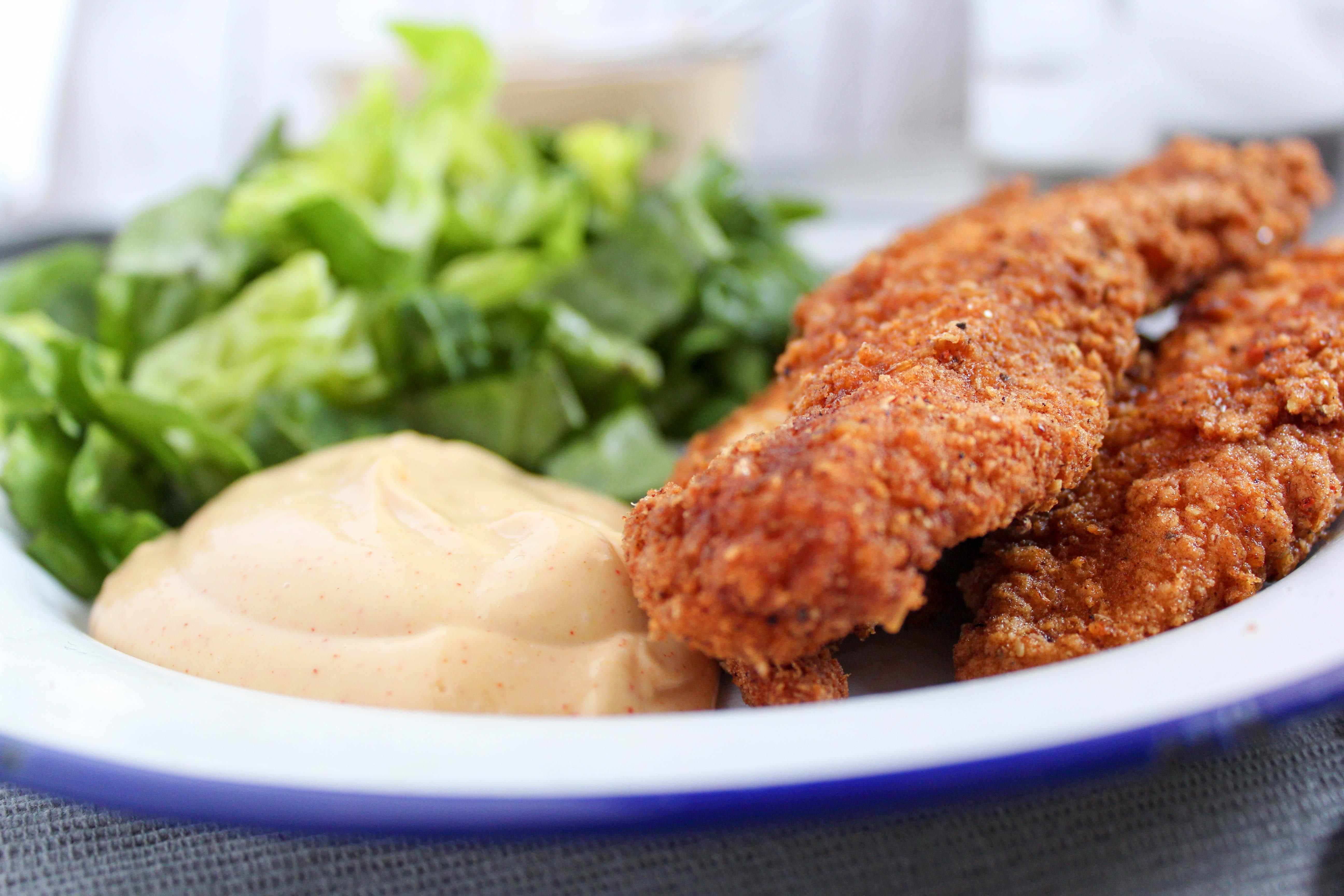 Restaurant Style Breaded Chicken Tenders