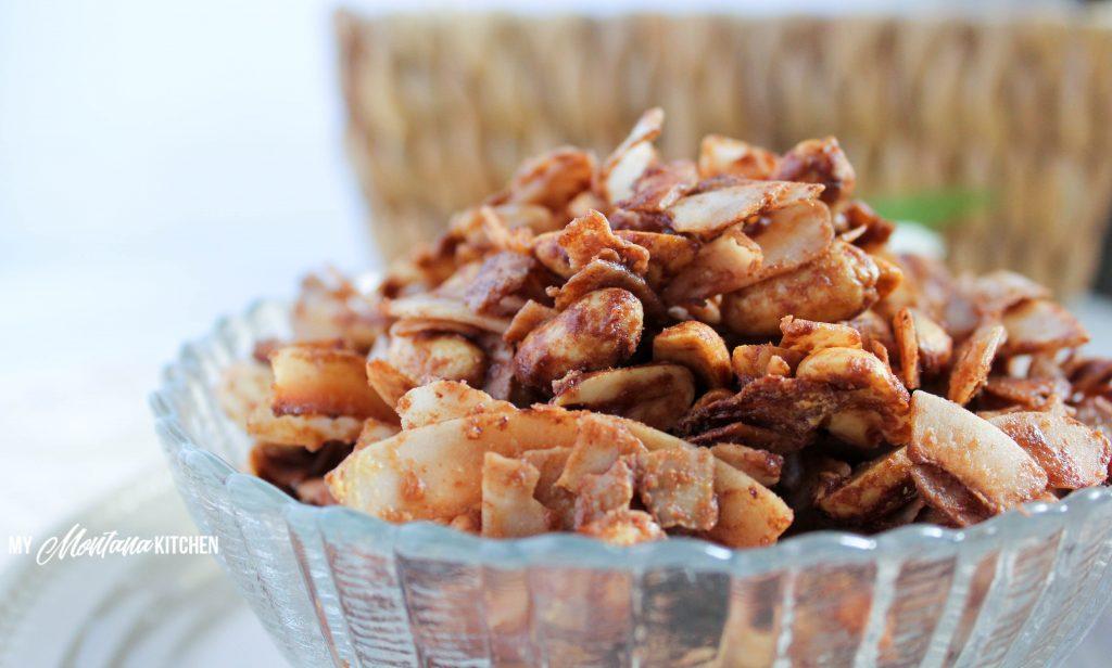 Low Carb Peanut Butter Granola (THM-S, Sugar Free)