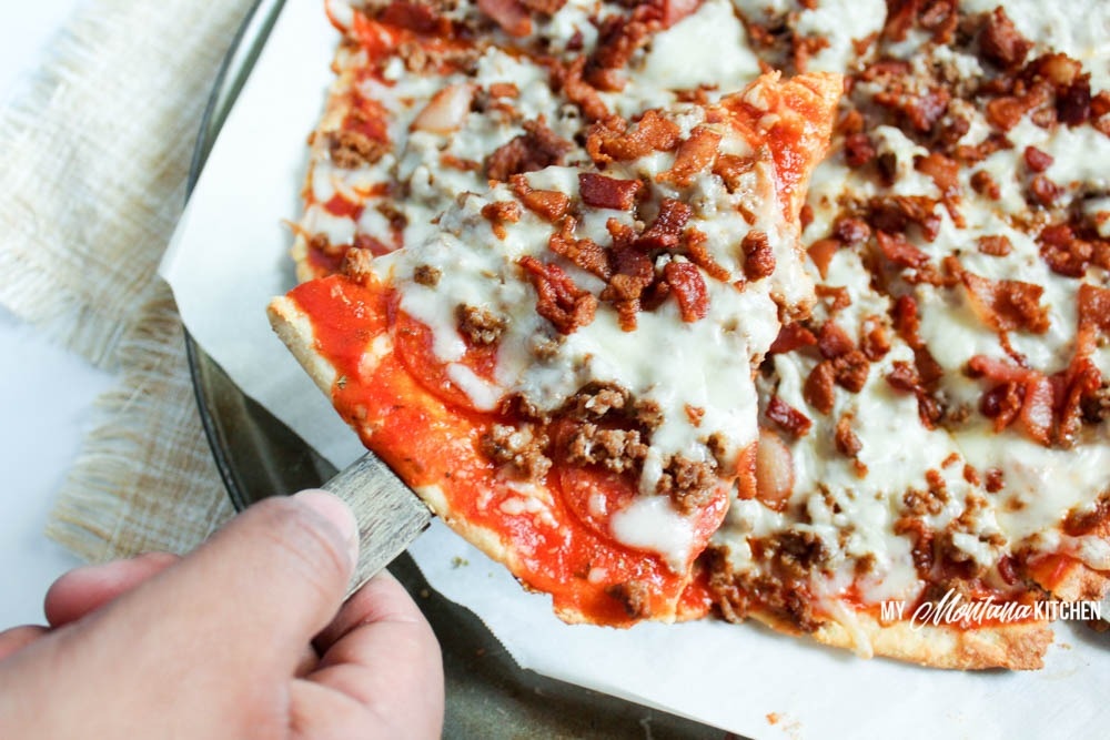 Low Carb Meat Lovers Pizza (THM-S)