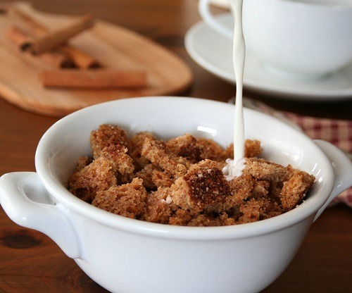 Cinnamon Crunch Cereal (THM-S, Low Carb, Sugar Free)