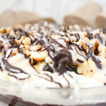 Snickers Pie (Low Carb, Sugar Free, THM-S)