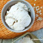 Oatmeal Cookie Frozen Yogurt (THM-E, Sugar Free)