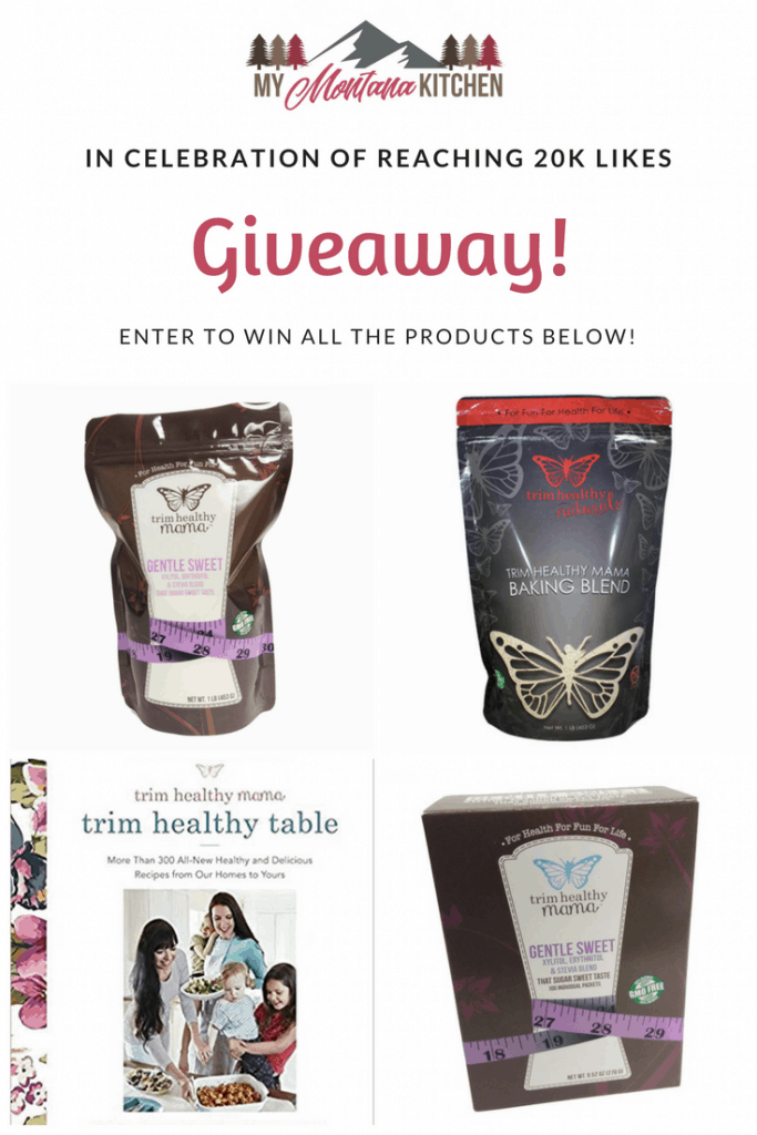 Trim Healthy Mama Product Giveaway!