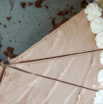 No Bake Chocolate Cheesecake (Low Carb, Sugar Free, THM-S) #trimhealthymama #nobake #thm #mymontanakitchen #lowcarb #sugarfree #cheesecake #chocolate