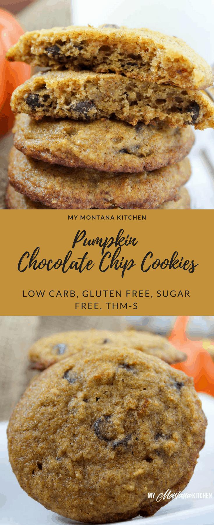 Pumpkin Chocolate Chip Cookies - My Montana Kitchen