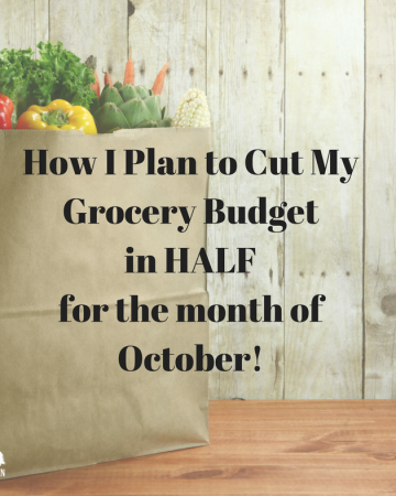 October Grocery Challenge (for Trim Healthy Mamas)
