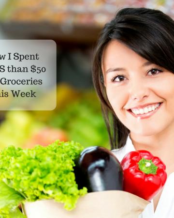 October Grocery Challenge - Week 1