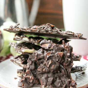 Salted Almond Bark (Low Carb, Sugar Free, THM-S, Dairy Free)
