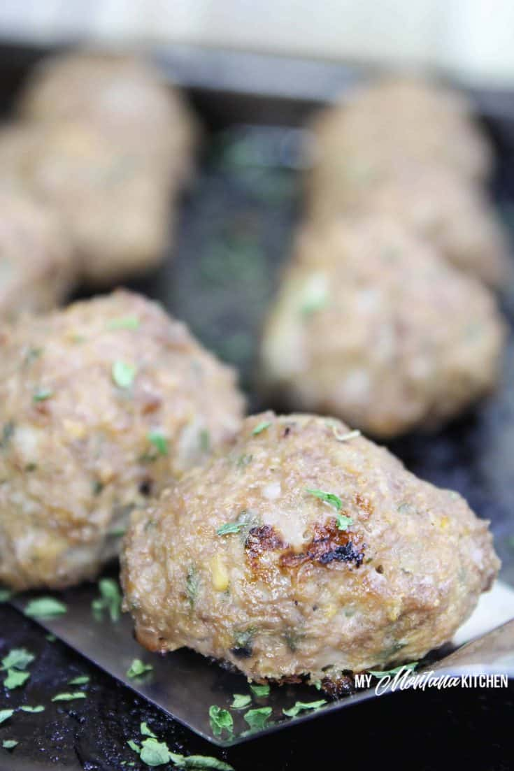 Easy Low Carb Meatballs