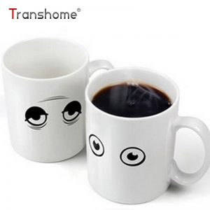 Heat Reactive Transforming Coffee Mug