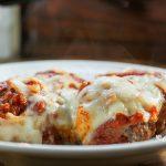 Low Carb Pizza Meatball Casserole #trimhealthymama #thm #thms #pizza #meatballs #casserole #mymontanakitchen
