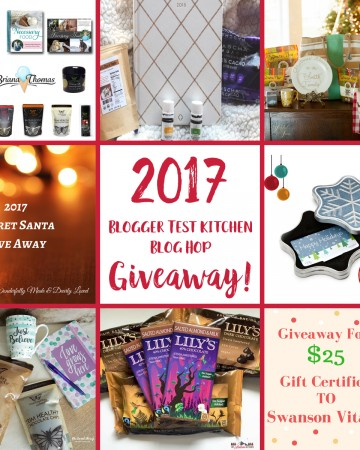 2017 Blogger Test Kitchen Blog Hop Giveaway