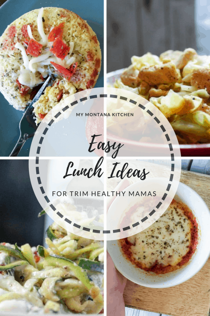 Easy Lunch Ideas #trimhealthymama #thmlunch #quicklunch #easylunchideas