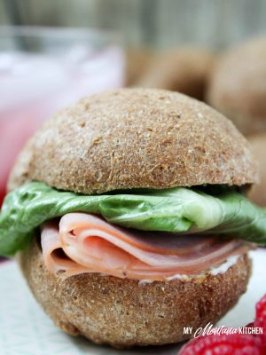 Low Carb Sandwich Rolls