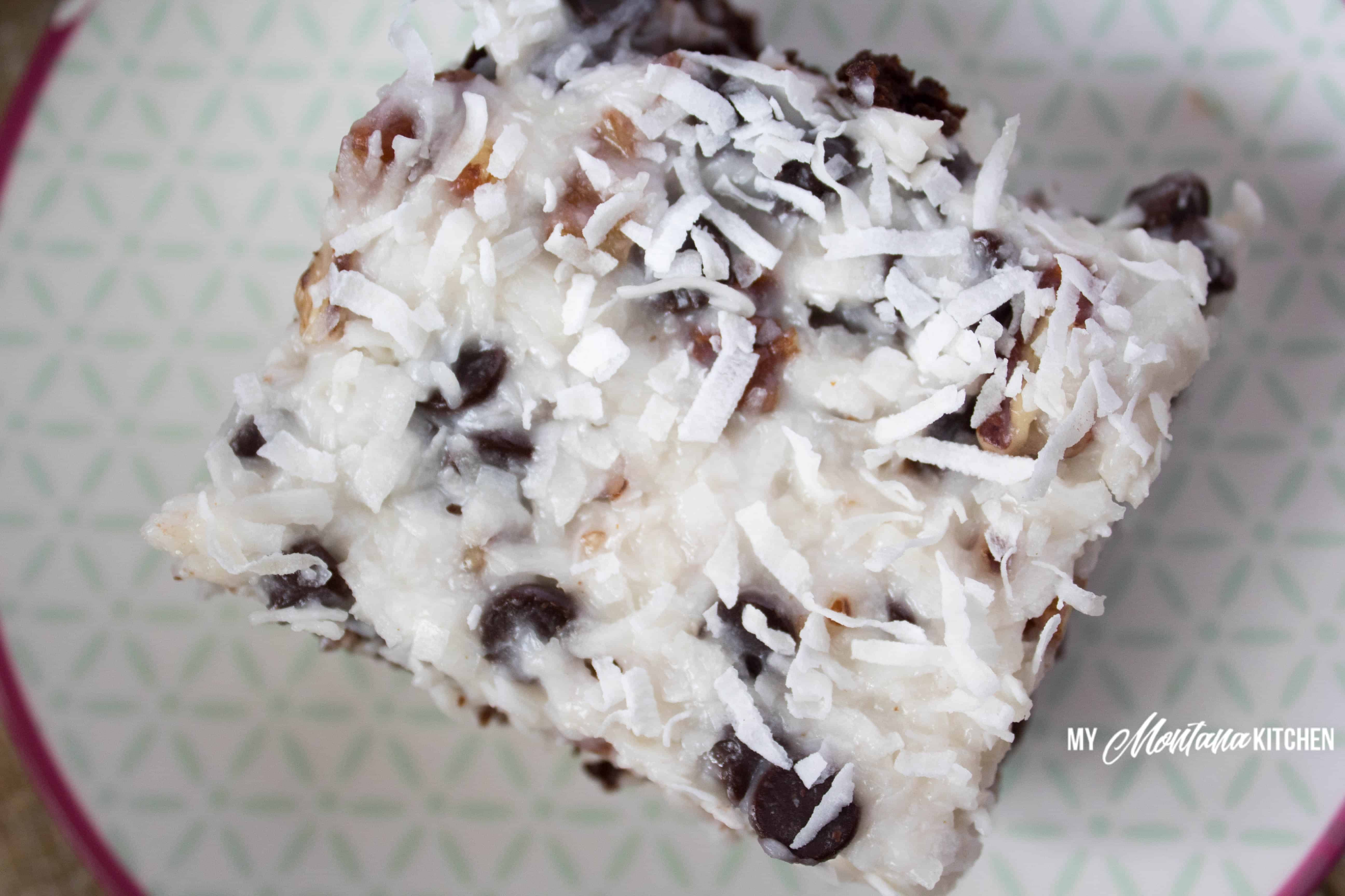 Low Carb Chocolate Coconut Cake | My Montana Kitchen