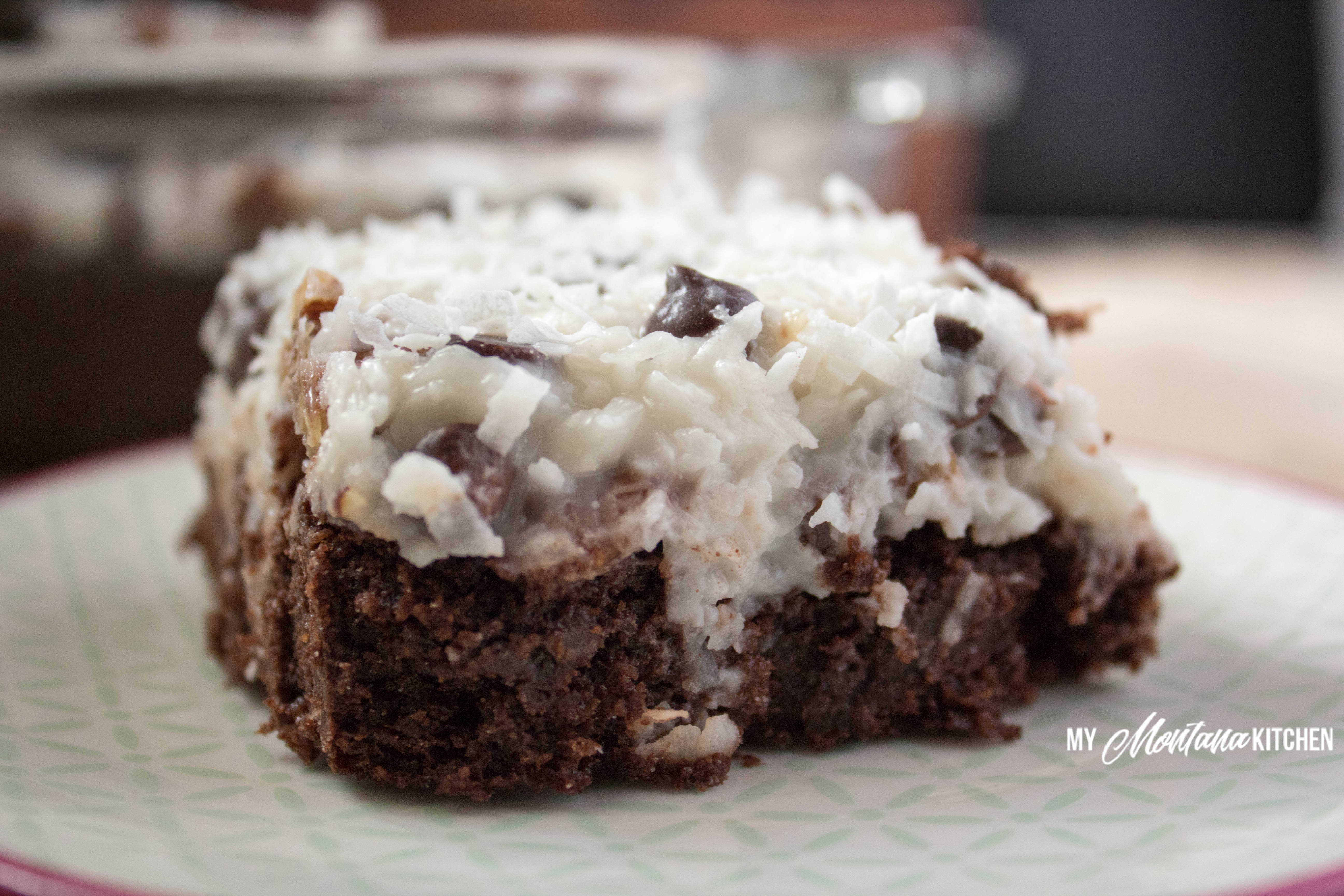 Low Carb Nut Cake Recipes: Low Carb Chocolate Coconut Cake