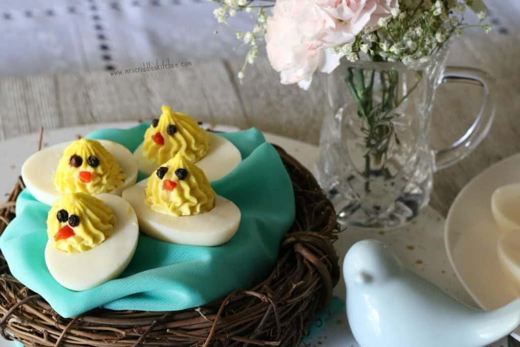 http://mrscriddleskitchen.com/deviled-chick-eggs/