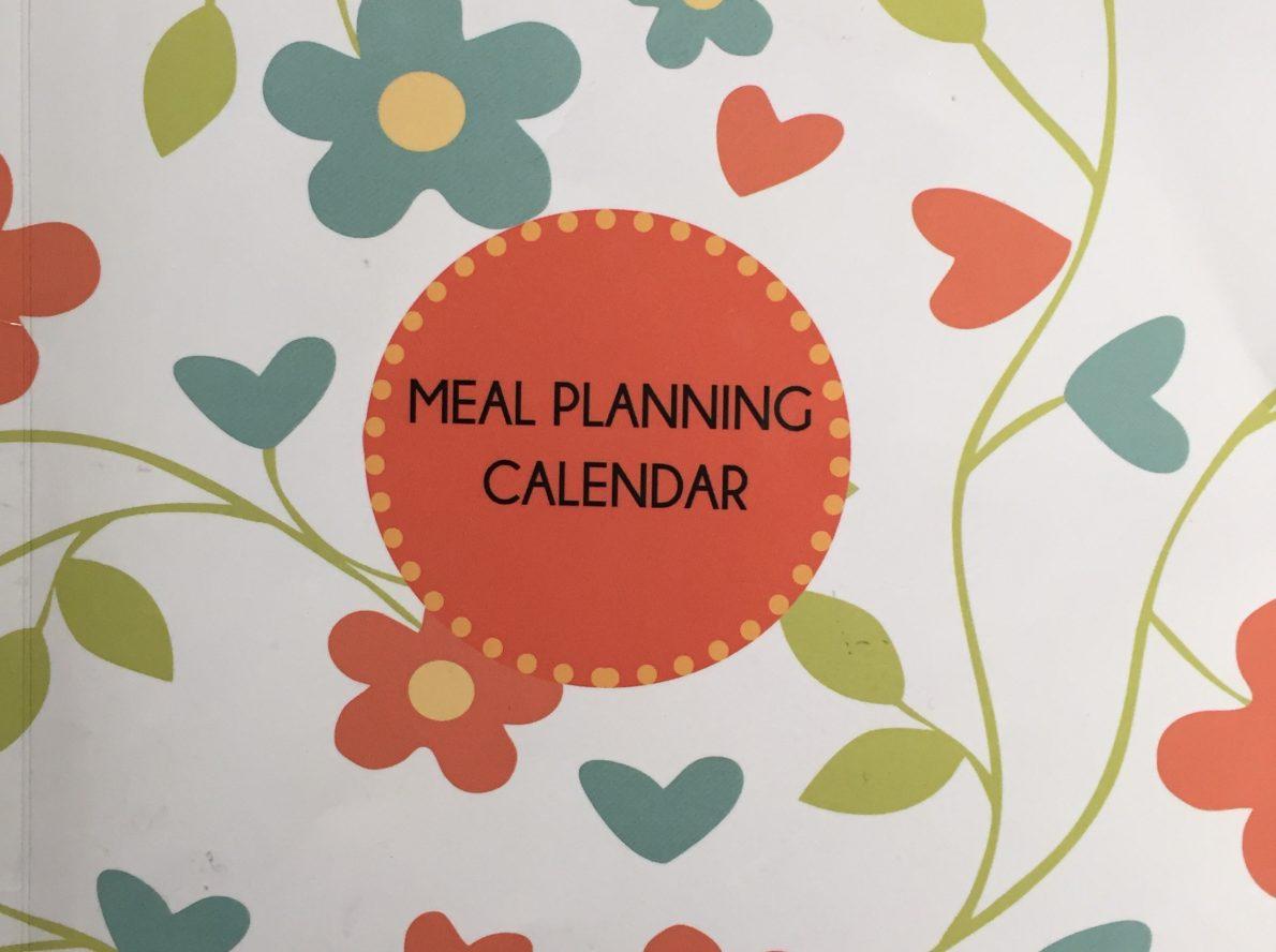 meal planning calendar