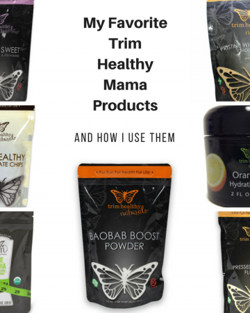 Favorite Trim Healthy Mama Products