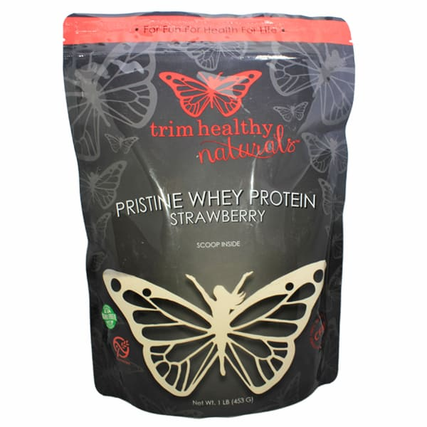 Trim Healthy Mama Strawberry Pristine Whey Protein Powder
