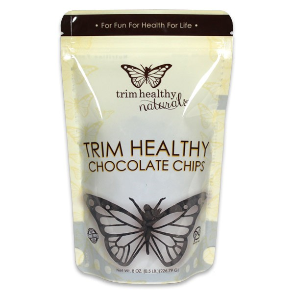 Trim Healthy Mama Chocolate Chips (Sugar Free, Low Carb, Keto)