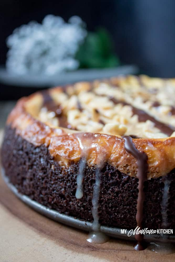 Snickers Brownie Cheesecake
